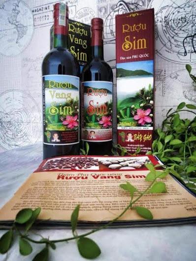 Rượu Sim Bảy Gáo Đặc Sản Phú Quốc