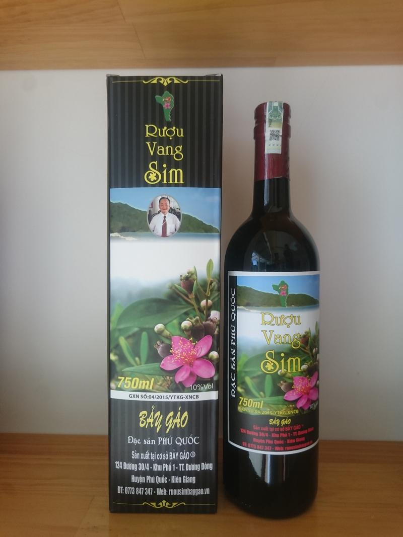 Rượu Vang Sim Bảy Gáo